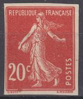 FRANCE : SEMEUSE N° 138g NON DENTELEE NEUVE SANS GOMME - A VOIR - 1906-38 Semeuse Con Cameo