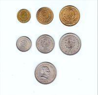 ® URUGUAY 1960: LOTE De 6 Monedas - Níquel Y Bronce - Uruguay