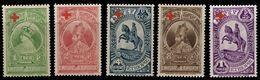 (056) Ethiopia / Ethiopie  1936 / Red Cross / Croix Rouge / Rotes Kreuz  ** / Mnh  Michel 191-195 - Ethiopia