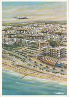 AIRPLANES - LAI 1950's - Italy - Linee Aeree Italiane - Grandi Citta Collegate Dalla LAI - Tel Aviv - 1946-....: Modern Era