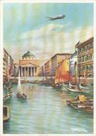 AIRPLANES - LAI 1950's - Italy - Linee Aeree Italiane - Grandi Citta Collegate Dalla LAI - Trieste - 1946-....: Modern Era