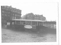 Paris - Autobus Parisien - Porte De Clignancourt - 1963 - Vue - Luoghi
