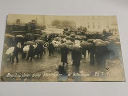 Begrabnissfeier Dreier Fliegeropfer In Differdingen 1917 - Altri