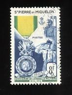 Saint Pierre Et Miquelon  -  1952  :  Yv  347  (o) - Oblitérés