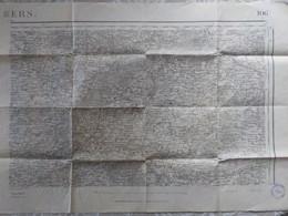 Carte Topog. 1/50 000° Type 1889 Tirage 1930 ANGERS N°106 Dont(Le Lude, Baugé, Genneteil, Meigné, Volandry, Auverse ) - Topographical Maps