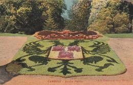 59 -  CAMBRAI JARDIN PUBLIC  . SCANS - Cambrai