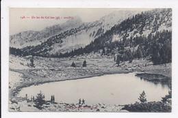 CP 04 Un Lac Du Col Bas - Sin Clasificación