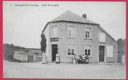 C.P. Lompret =   Café  De La GARE - Chimay