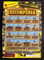 RASP99, Lottery Tickets, Portugal, « Raspadinha », « Instant Lottery », « RECOMPENSA», Nº 446 - Lottery Tickets