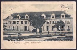 +++ CPA - Amérique - America - SURINAM - Colonie SURINAME - De Kazerne - Front - Paramaribo  // - Surinam
