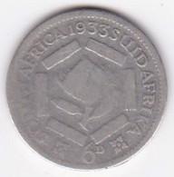 South Africa 6 Pence 1933, George V , En Argent. KM# 16.2 - South Africa