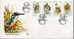 Transkei South Africa Official FDC # 1.19 -  Fauna Birds - Transkei