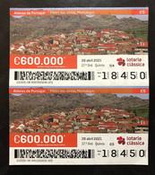 RASP99, Lottery Tickets, Portugal, « ALDEIAS DE PORTUGAL », « VILLAGES OF PORTUGAL », 2021 - Lottery Tickets
