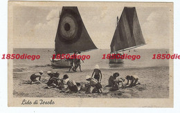 LIDO DI JESOLO  -  SPIAGGIA F/PICCOLO VIAGGIATA ANIMATA - Venezia (Venice)