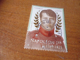 OBLITERATION RONDE  SUR TIMBRE NEUF NAPOLEON - Used Stamps