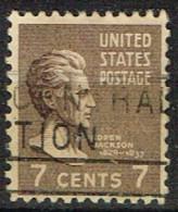 USA 30 - ETATS UNIS N° 377 Obl. Andrew Jackson - Gebraucht