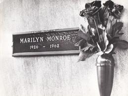 MARILYN MONROE - ATTRICE - FOTOGRAFIA DELLA LAPIDE - Foto