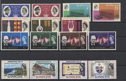 St. Vincent Jahrgang 1966 + 1967 - Postfrisch - MNH - ** - St.Vincent (1979-...)