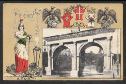 MILITARE PRIMA GUERRA POLA PORTA GEMINA PULA VG. 1916 N° B525 F./PICCOLO - Croazia