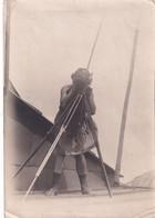 "UKRAINE. # 5846 PHOTO. ""KIEV. ANNA ALEXANDROVNA ON THE ROOF OF THE HOUSE OF GINZBURG. CAMERA. - Altri"