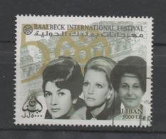 Baalbeck International Festival 2007  Used Lebanon Stamp Women 5000L , Liban - Lebanon