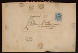 BALLON MONTE.  Pour Connaisseur - 1853-1860 Napoleon III