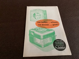 Lede La Ledoise Pamflet Dubbel Blad - Collezioni