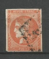 Timbre France  Emission Bordeaux  Oblitere N 48 - 1870 Bordeaux Printing