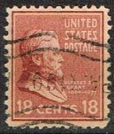 USA 32 - ETATS UNIS N° 388 Obl. Ulysses Grant - Gebraucht
