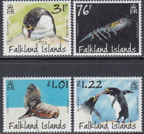 Falkland Islands 2018, Predatories And Marsupials, MNH Stamps Set - Falkland Islands