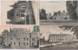 110 Cartes Postales CPA. Que Des Châteaux De France - 100 - 499 Cartoline