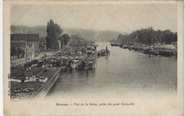 DEPT 76 - ROUEN - VUE DE LA SEINE PRISE DU PONT CORNEILLE - Rouen