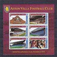 Soccer - Football -  GRENADA - Sheet MNH - Aston Villa - Altri