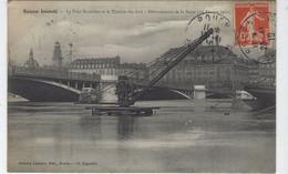 DEPT 76 - ROUEN - LE PONT BOIELDIEU ET LE THEATRE DES ARTS - DEBORDEMENT DE LA SEINE 1er FEVRIER 1910 - Rouen