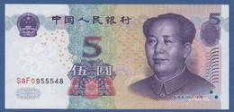 CHINA - P.903b – 5 YUAN 2005 - UNC    SERIE  S8F0 - Cina