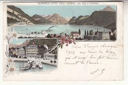 Suisse - LU - Alpnach Stad Près Lucerne -  Lac Des 4 Cantons - Style Kunzli - LU Lucerne