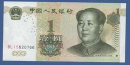 CHINA - P.895 – 1 YUAN 1999 - UNC  SERIE BLI5 - Cina