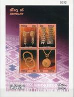 Laos 2007, Gold Jewelry, MNH S/S - Laos