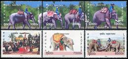 Laos 2008, Elephant Festival, MNH Stamps Set - Laos