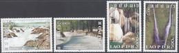 Laos 2008, Waterfalls, MNH Stamps Set - Laos