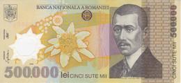 BILLETE DE RUMANIA DE 500000 LEI DEL AÑO 2000 EN CALIDAD EBC (XF) (BANK NOTE) POLIMERO - Romania
