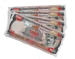 LOT 4 PIECES - NICARGUA 5000 CORDOBAS AUNC - Nicaragua