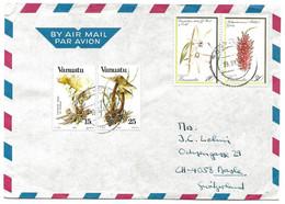 101 - 91 - Enveloppe Envoyée De Vanuatu En Suisse 1984 - Vanuatu (1980-...)