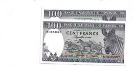 LOT 2 PCS - RWANDA 100 FRANCS AUNC - Rwanda