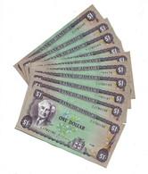 LOT 10 PCS - JAMAICA 1 DOLLAR AUNC - Jamaica