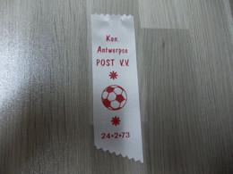 Lintje Uit Satijnlint Kon. Antwerpse POST V.V. 1973 - Voetbal - Altri