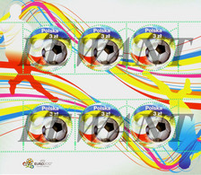 2012.06.15 UEFA EURO 2012 - MNH - Sheet - Nuovi