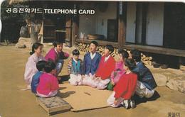 Korea, O9401103 (W), Yut Play (Letter W), 2 Scans. - Korea, South