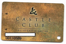 Cliff Castle Casino, Sedona, AZ, U.S.A., Older Used Slot Or Player's Card, # Cliffc-1 - Cartes De Casino