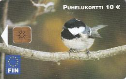 FINLAND - Bird, FIN Telecard 10 Euro, Tirage 10000, 02/02, Used - Finland